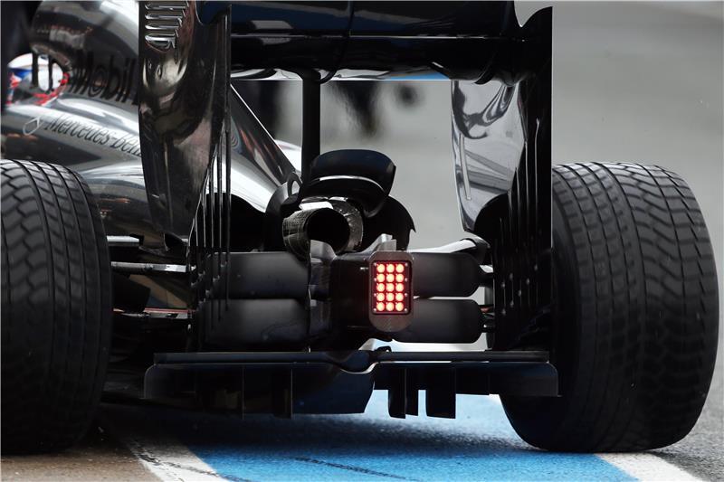 Конструкция задней подвески McLaren MP4-29
